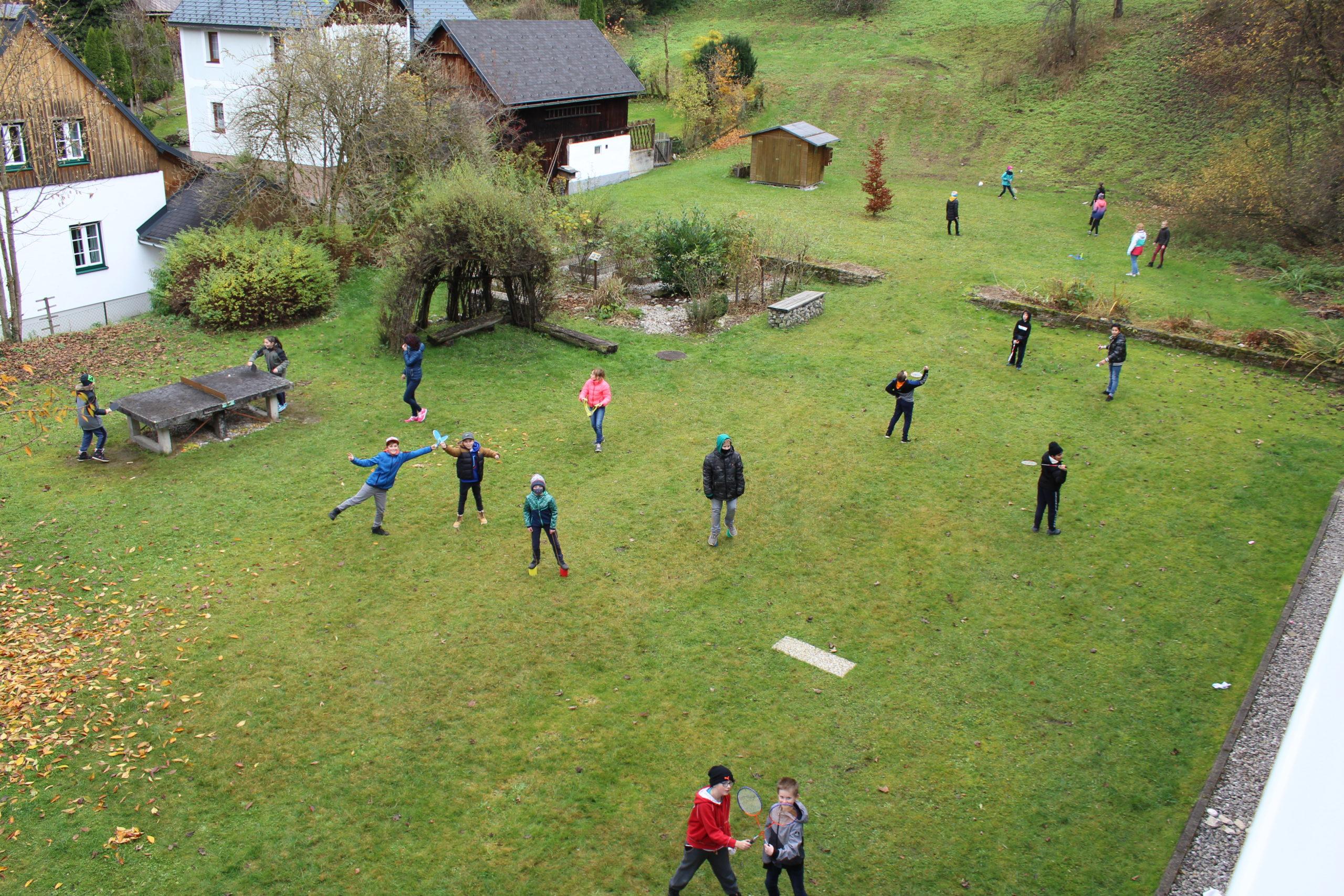 Bewegung und Sport im Freien