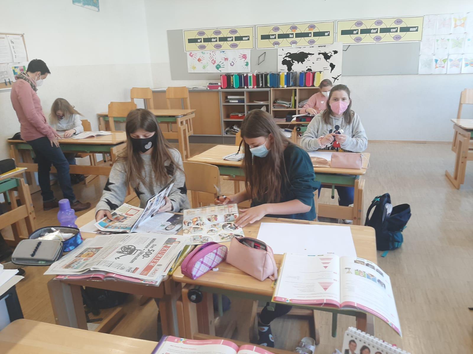 Zeitungen im Deutschunterricht